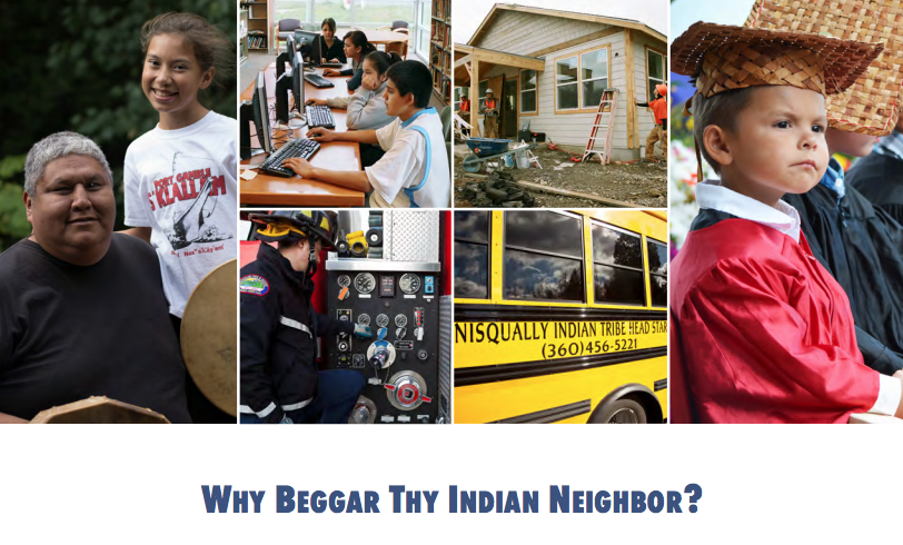 Why beggar thy Indian neighbor? The case for tribal primacy in taxation in Indian country