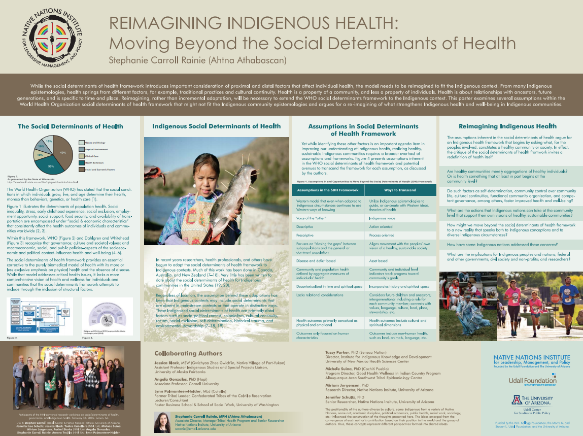 Reimagining Indigenous Health: Moving Beyond the Social Determinants of Health