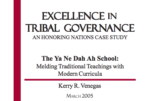 The Ya Ne Dah Ah School (Chickaloon): Melding Traditional Teachings with Modern Curricula