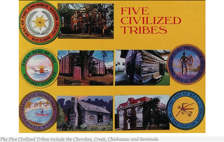 The Sustained Self-Sufficiency of the Five Civilized Tribes