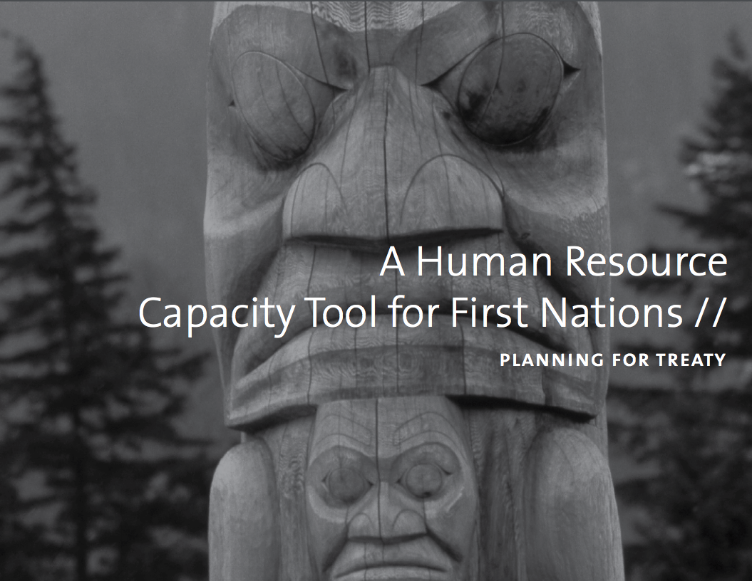 A Human Resource Capacity Tool for First Nations