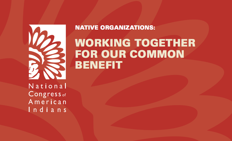 Native Organizations: Working Together for Our Common Benefit
