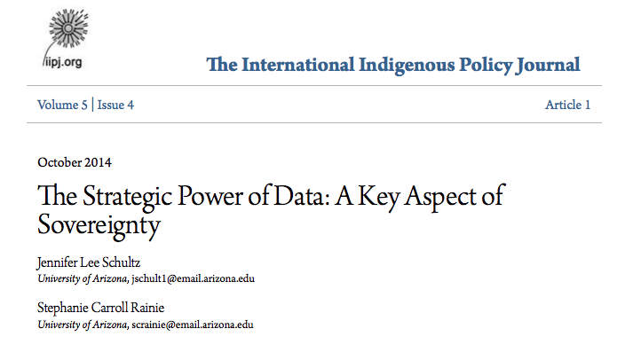 The Strategic Power of Data: A Key Aspect of Sovereignty