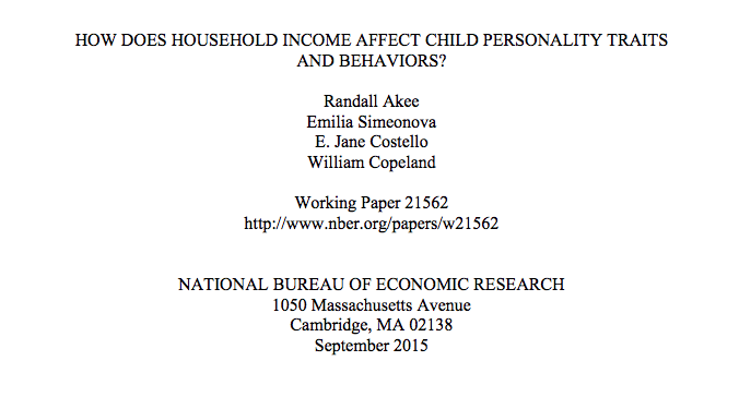 How Does Household Income Affect Child Personality Traits and Behaviors?How Does Household Income Affect Child Personality Traits and Behaviors
