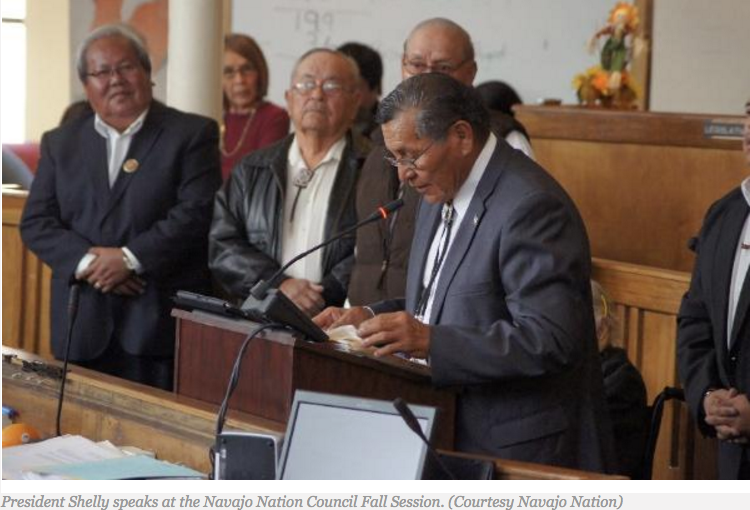 Navajo Nation Delegation Still Ironing Out Issues After Three Years