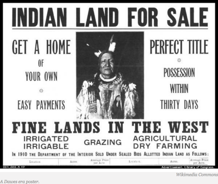U.S. Land Rights for Indians?