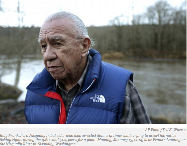Tribal Rights Legend and Leader Billy Frank Jr. Walks On