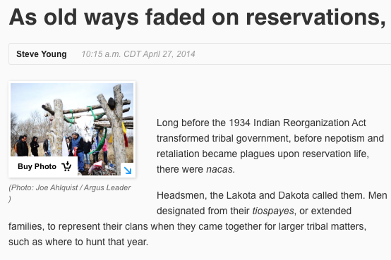 As old ways faded on reservations, tribal power shifted
