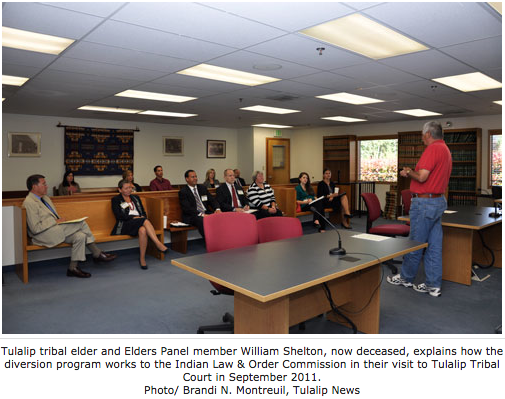 First-time offenders learn accountability through diversion program run by tribal elders