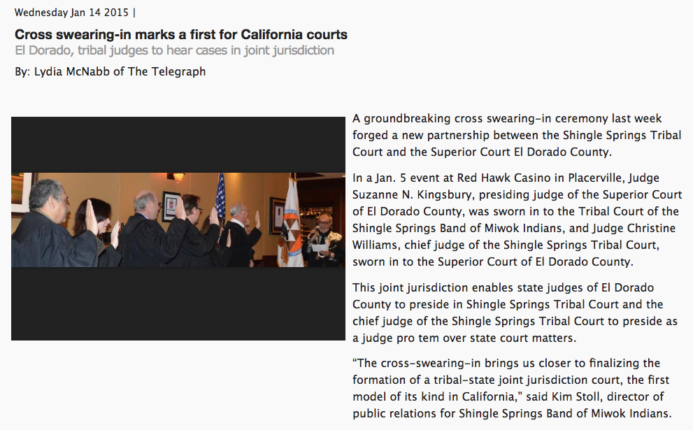 Cross swearing-in marks a first for California courts