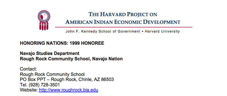 Navajo Studies Department