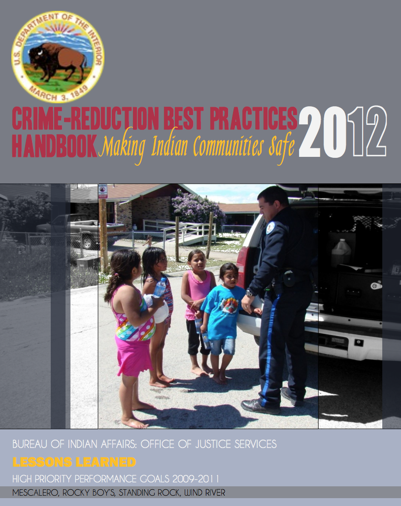 Crime-Reduction Best Practices Handbook: Making Indian Communities Safe