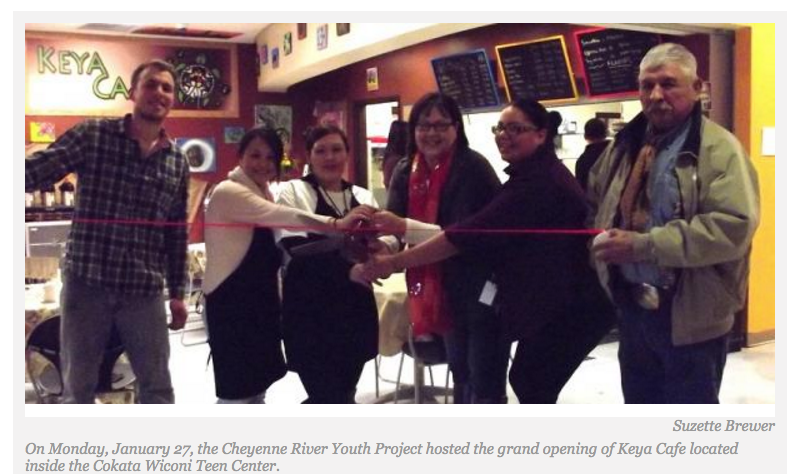 Cheyenne River Youth Project Turns 25, Launches Endowment and Keya Cafe Featuring Homegrown Food