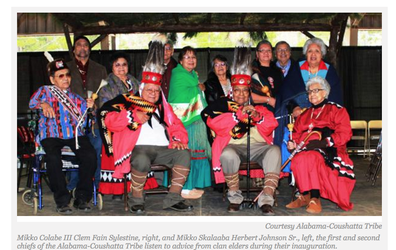 A Lifetime Journey: Alabama-Coushatta Name New Chiefs
