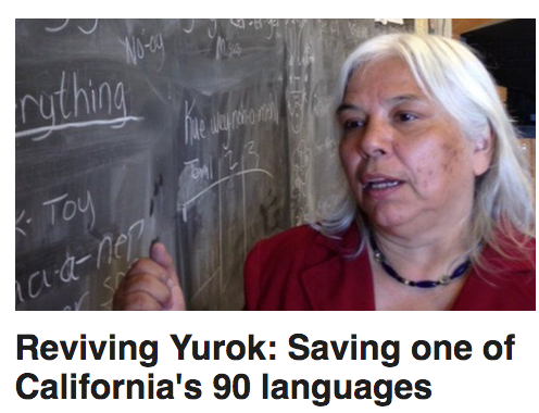 Reviving Yurok: Saving one of California's 90 languages