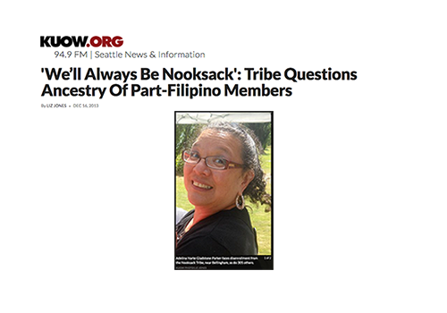 'We'll Always Be Nooksack': Tribe Questions Ancestry Of Part-Filipino Members