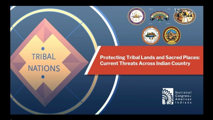 NCAI Forum: Protecting Tribal Lands and Sacred Places: Current Threats Across Indian Country