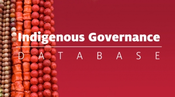 Indigenous Governance Database