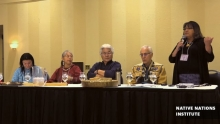 Panel Discussion-Alaska Tribal Govt Symposium Day1