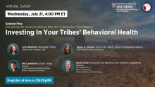 Navigating the American Rescue Plan Act: A Series for Tribal Nations, Session 5