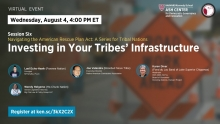 Navigating the American Rescue Plan Act: A Series for Tribal Nations, Session 6