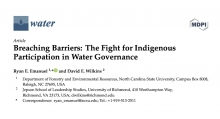 Breaching Barriers: The Fight for Indigenous Participation in Water Governance
