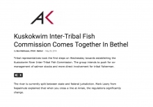 Kuskokwim Inter-Tribal Fish Commission Comes Together In Bethel