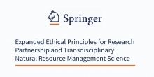 Expanded Ethical Principles for Research Partnership and Transdisciplinary Natural Resource Management Science