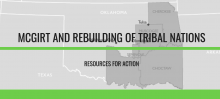 McGirt and Rebuilding of Tribal Nations