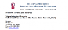 Yakama Nation Land Enterprise