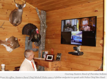 Face Time: Video Conferencing App Improves Business Relations for Eastern Band of Cherokees