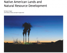 Native American Lands and Natural Resource Development