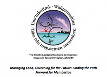 Managing Land, Governing for the Future: Finding the Path Forward for Membertou