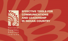 Effective Tools for Communications and Leadership in Indian Country