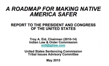 A Roadmap For Making Native America Safer: Report To The President And Congress Of The United States
