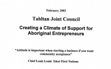 Creating a Climate of Support for Aboriginal Entrepreneurs