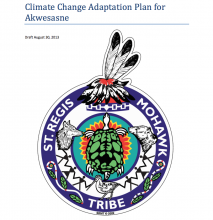 Climate Change Adaptation Plan for Akwesasne