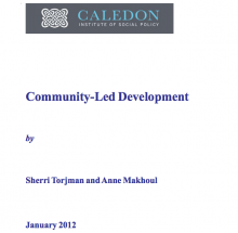 Community-Led Development