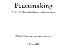 Navajo Peacemaking Guide