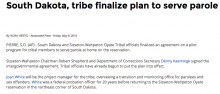 South Dakota, tribe finalize plan to serve parole