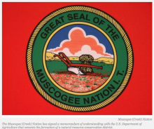 Muscogee (Creek) Nation Creates Conservation District With USDA