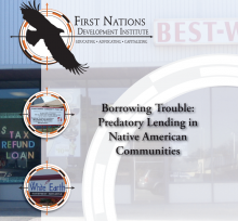 Borrowing Trouble: Predatory Lending in Native American Communities