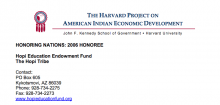 Hopi Education Endowment Fund