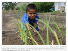 Cheyenne River Youth Project's Garden Evolving Into Micro Farm