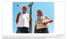 Henry Red Cloud Leads the Renewable-Energy Charge at Pine Ridge