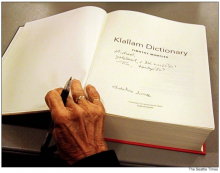 Klallam dictionary opens window into tribal heritage