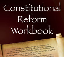 White Earth Nation Constitutional Reform Workbook