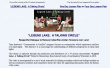Legend Lake: A Talking Circle