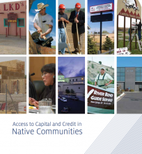 Access to Capital and Credit in Native Communities