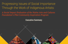 Progressing Issues of Social Importance Through the Work of Indigenous Artists